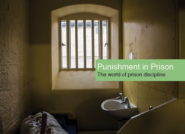 Punishment in prison cover - image of a prison cell