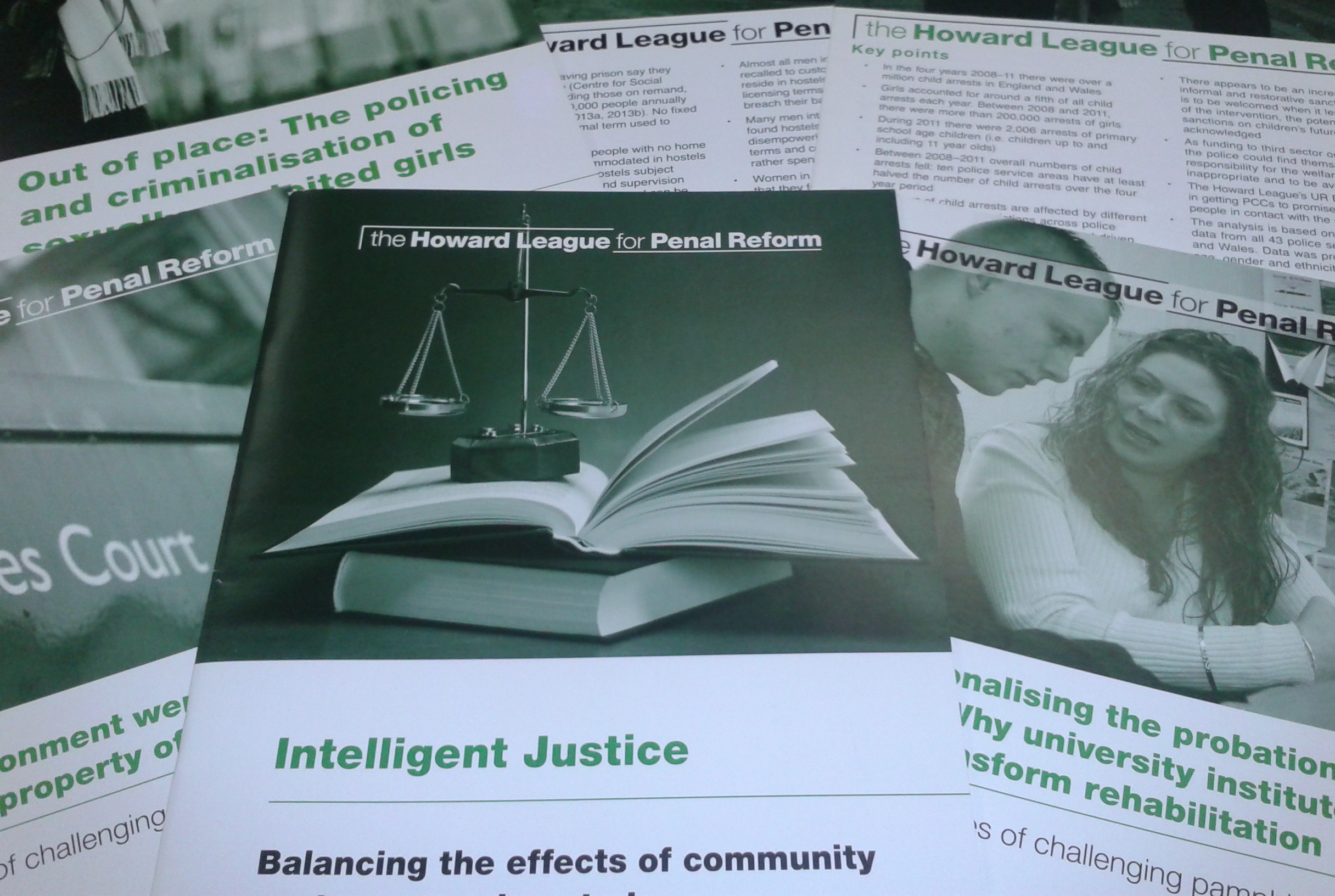 Publications: Intelligent Justice and Out of Place