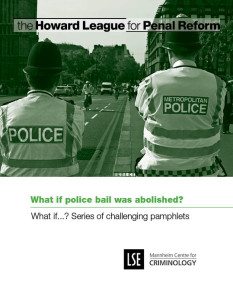 What if police bail was abolished