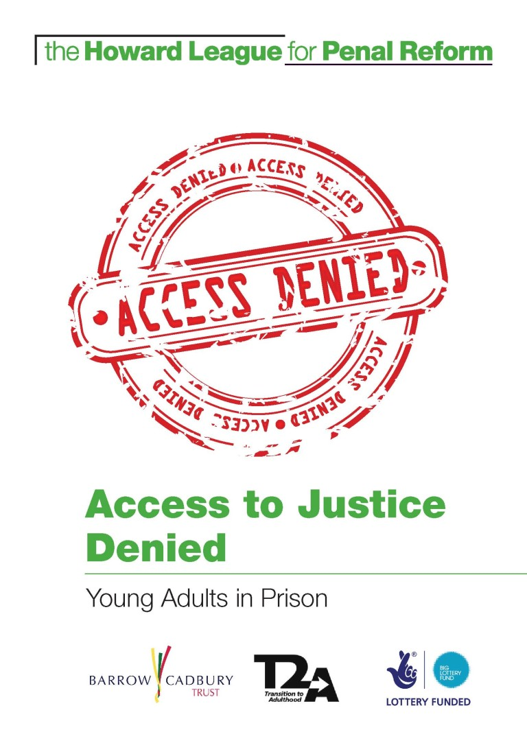 Access to Justice Denied report Cover