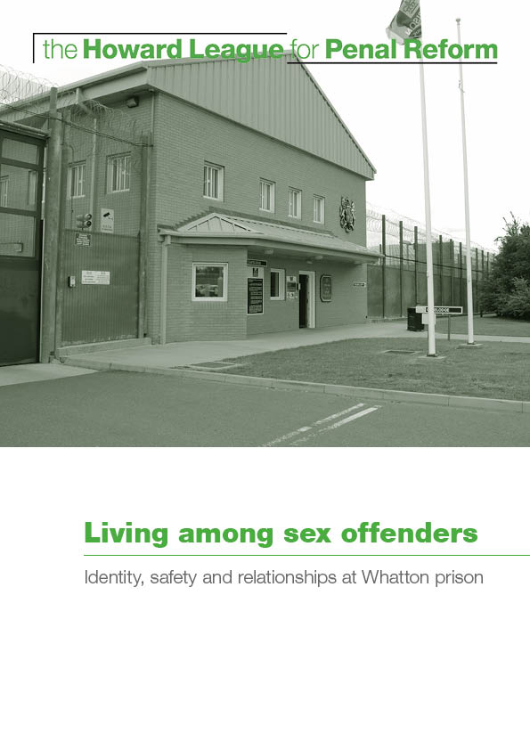 Living among sex offenders report cover