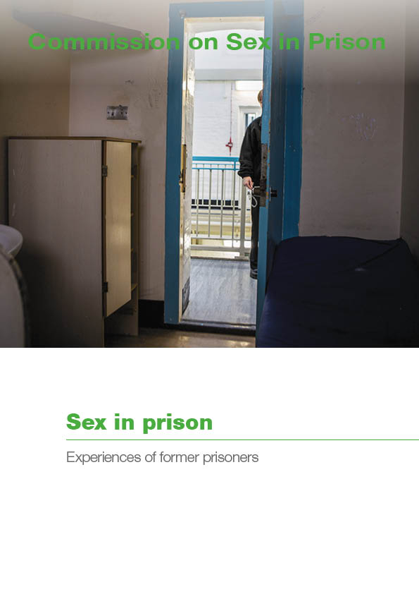 Sex in prison report cover
