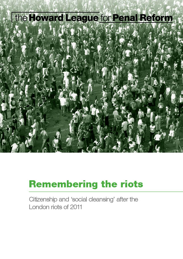Remembering the riots report cover