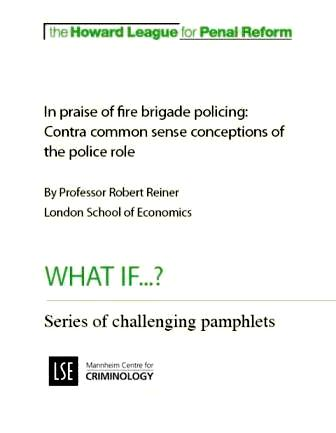 In praise of fire brigade policing report cover
