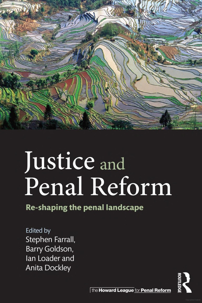 Justice and penal reform book cover