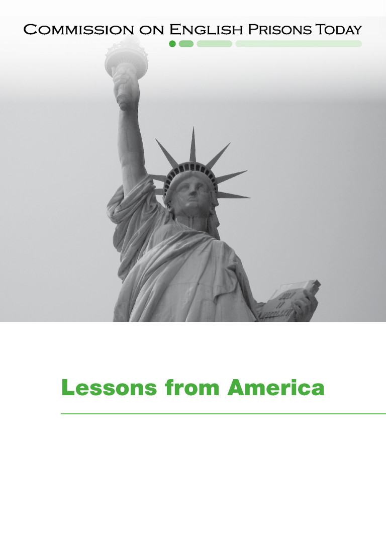 Lessons from America report cover