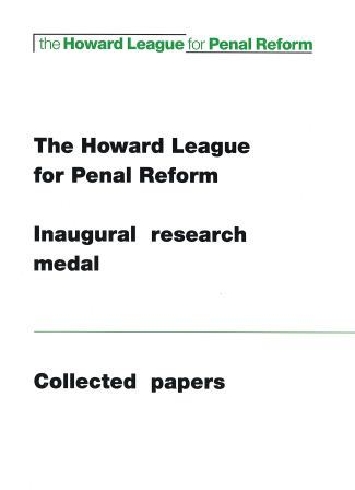 Inaugural research medal cover