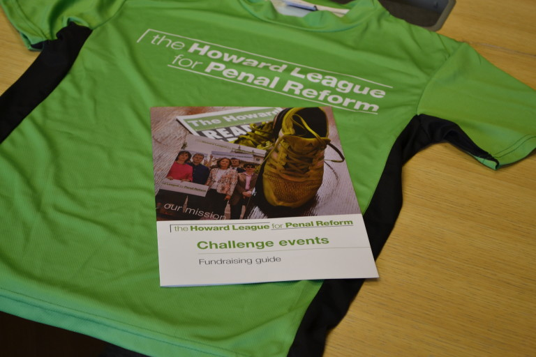 T-shirt and fundraising pack