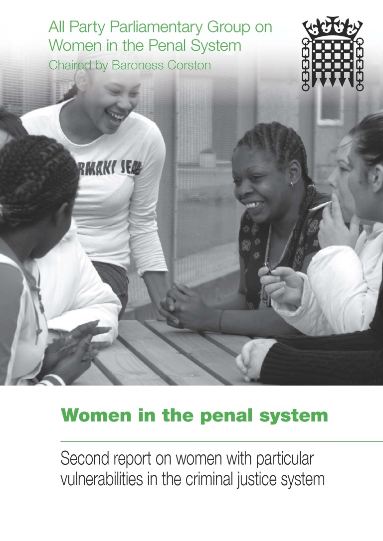 Women in the penal system cover