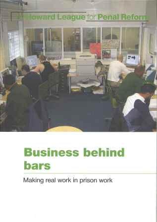 Business behind bars report cover