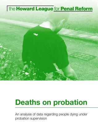 Deaths on probation report cover