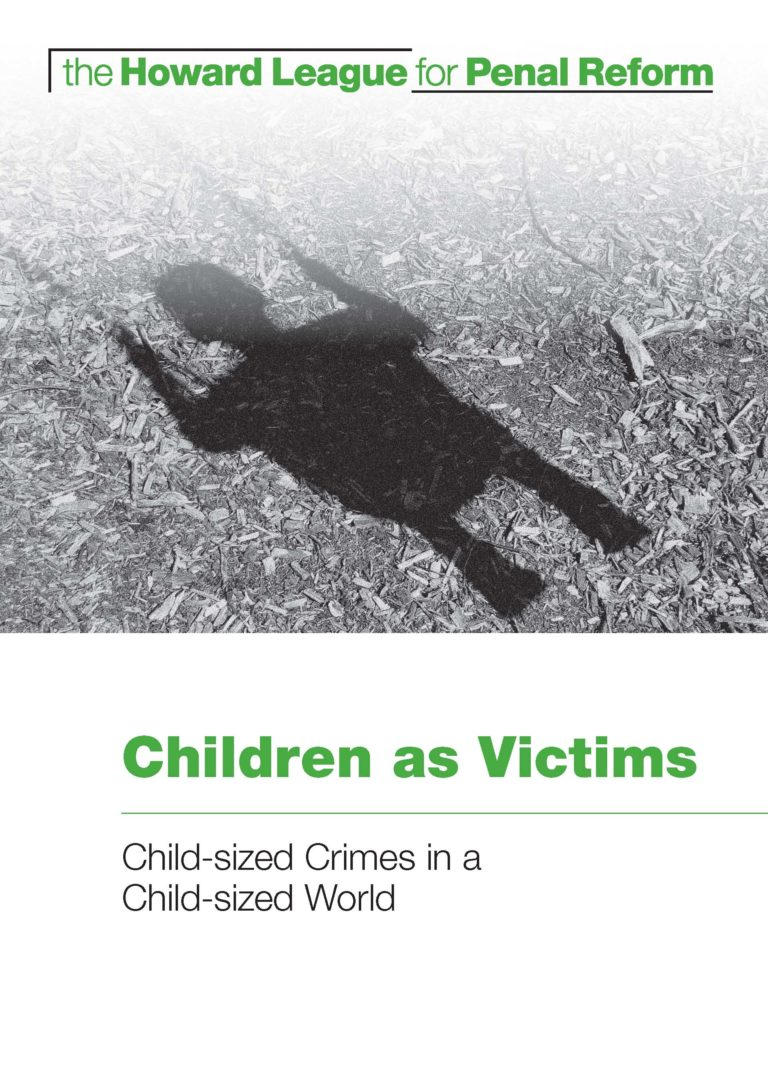 Children as victims report cover