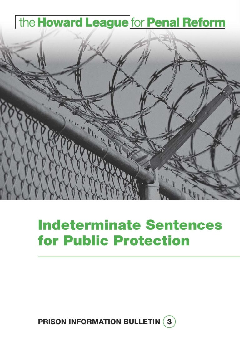 IPP report cover - image of a fence with barbed wire