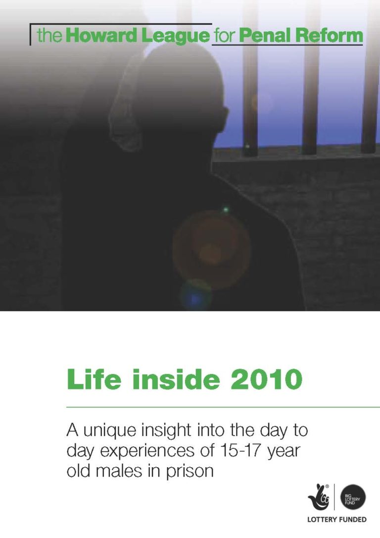 Life inside 2010 report cover