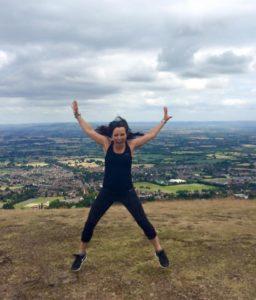 Natalie Atkinson jumping
