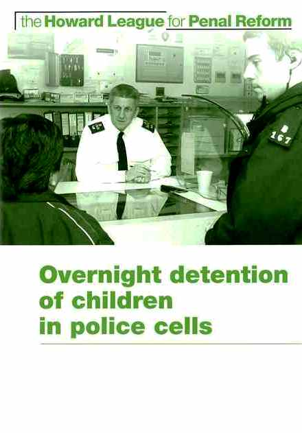 Overnight detention of children in police cells cover