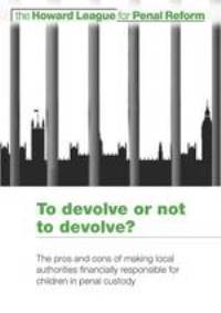 To devolve or not to devolve report cover