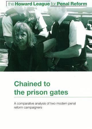 Chained to the prison gates report cover