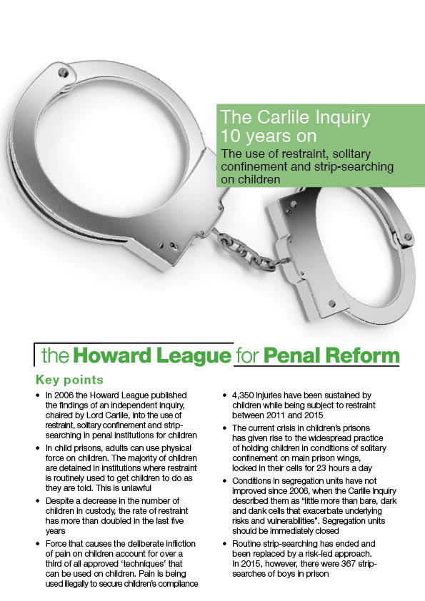 Carlile Inquiry 10 years on report cover