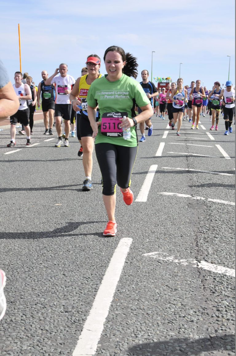 Challenge Events: Natalie Atkinson takes part in the Great North Run 2016