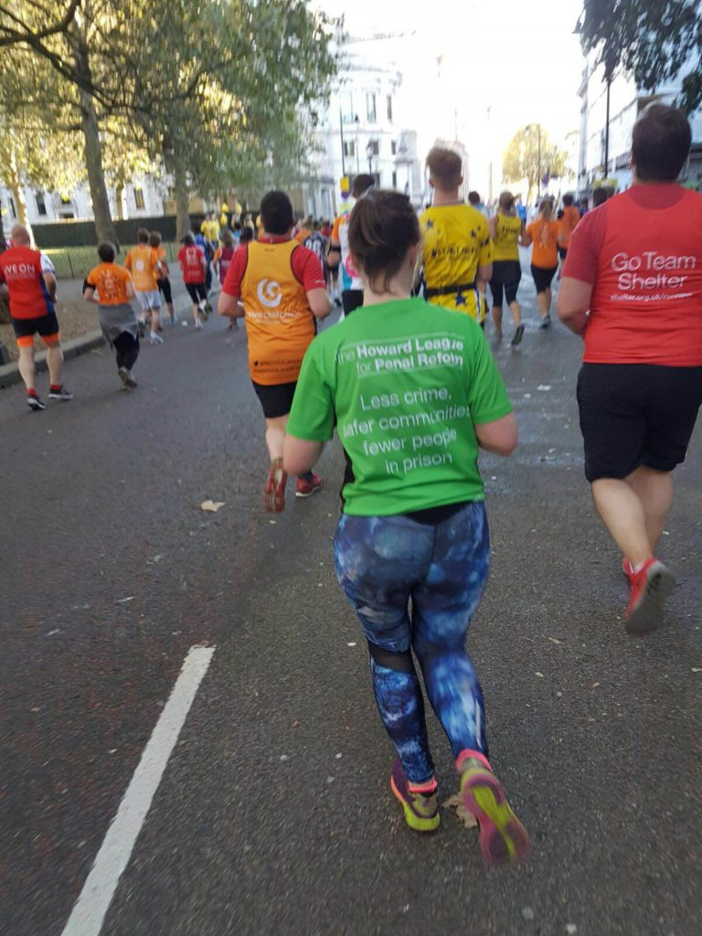 Challenge Events: Kirsty Kenney takes part in the Royal Parks Foundation Half Marathon 2016.