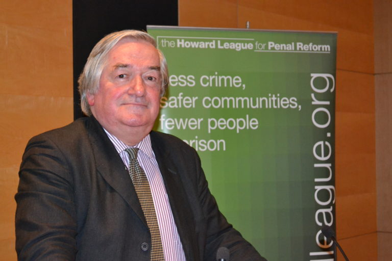 Sir James Munby delivers the Howard League lecture, held in memory of Lord Parmoor, at Clifford Chance LLP on 30 October 2017.