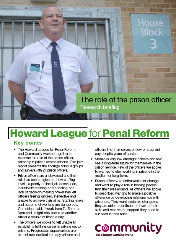 roles of correctional officers 33-3012 correctional officers and jailers guard inmates in penal or  rehabilitative institutions in accordance with established regulations  wage,  mean annual.