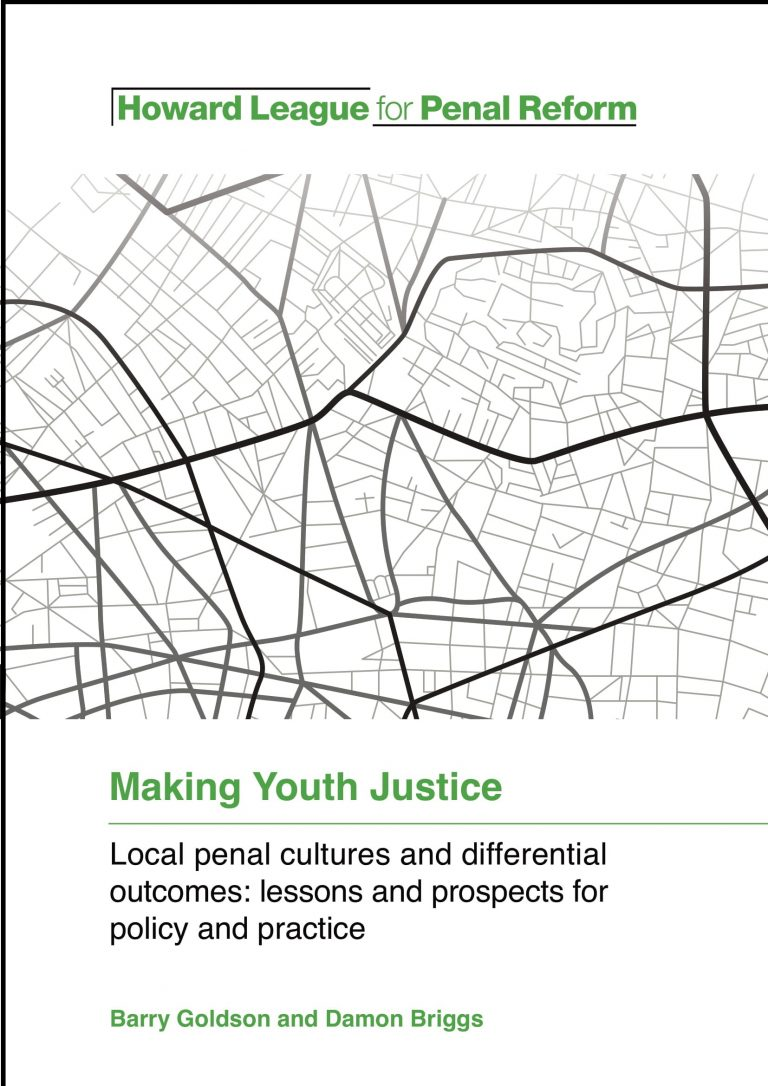 Making Youth Justice report cover